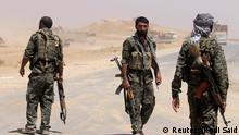 Kurdish People's Protection Units (YPG) in Syrien ARCHIV 10.08.2014
