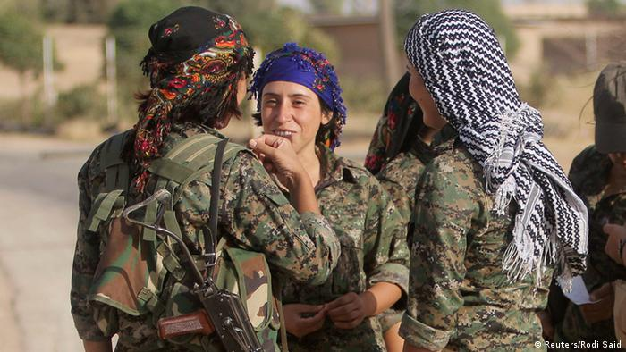 Kurdish People's Protection Units (YPG) in Syrien 19.09.2014