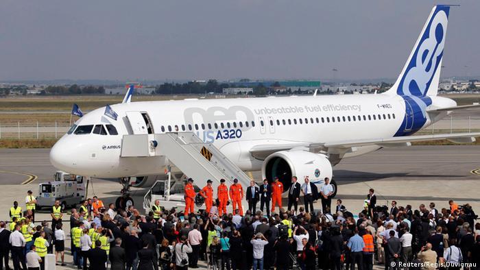 Airbus A320neo Testflug 25.09.2014