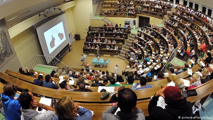 Hörsaal der Universität Leipzig (Foto: dpa)