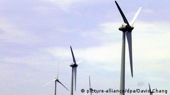 Symbolbild Taiwan Offshore Windprojekt (picture-alliance/dpa/David Chang)