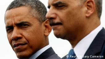 USA Rücktritt von Justizminister Eric Holder