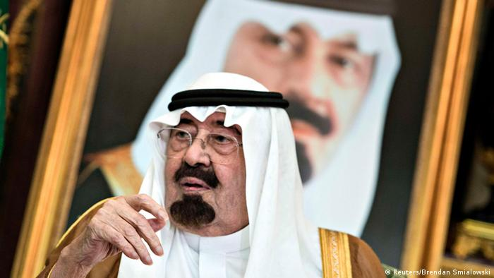 Abdullah bin Abdul Aziz al-Saud König Saudi Arabien 11.09.2014 (Foto: Reuters)