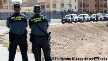 Spanien Guardia Civil in Melilla