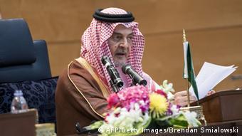 Der saudische Außenminister Saud al-Faisal Foto: Getty Images