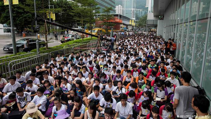 Hong Kong Schülerstreik