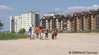 Новый район Пилайте в Вильнюсе
