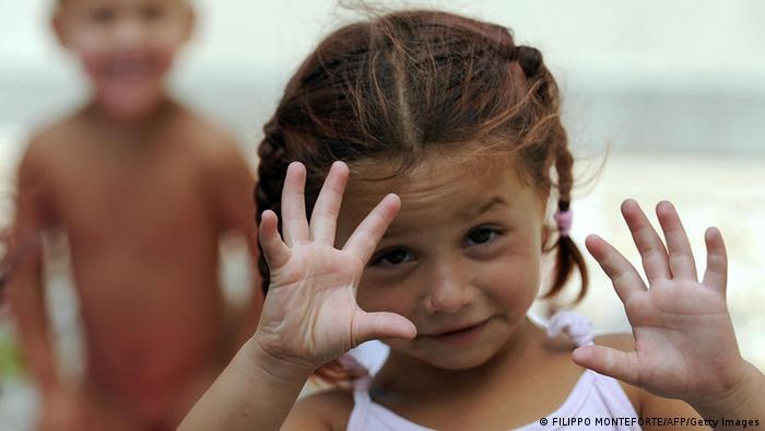 Цыганская девочка