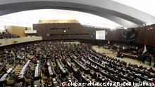 Indonesien Parlament Archiv 15.08.2014