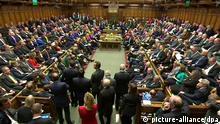 Debatte im britischen Parlament zur Militäraktion gegen IS 26.09.2014