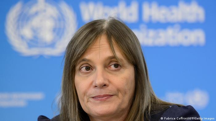 World Health Organization (WHO) - Marie Paule Kieny (Fabrice Coffrini/AFP/Getty Images)