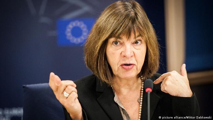 Хармс предложила пригласить Абромавичуса в Брюссель для обсуждения борьбы с коррупцией в Украине