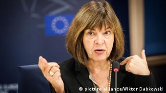 Rebecca Harms of the Greens in the European Parliament