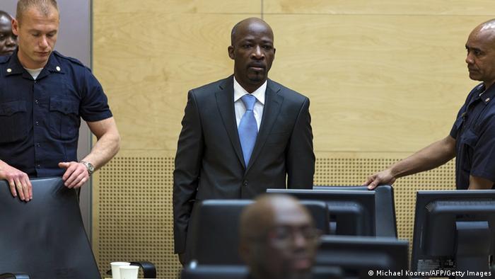 Charles Blé Goudé vor dem IStGH (Foto: AFP)