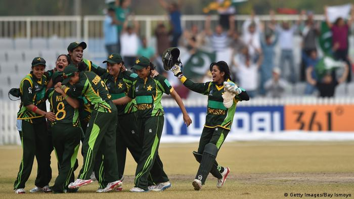 Pakistan Cricket Frauen 2014 Asian Games (Getty Images/Bay Ismoyo)