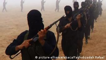 Propagandabild IS-Kämpfer ARCHIV