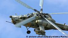 Russischer Mil Mi-28 Angriffshubschrauber