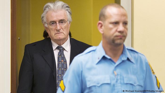 Радован Караджич у суді в Гаазі