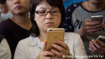 iPhone 6 in Hong Kong