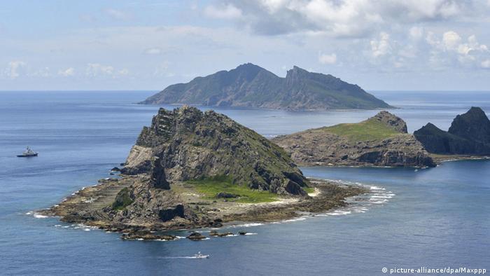 Japan Inseln Minamikojima, Kitakojima & Uotsuri (picture-alliance/dpa/Maxppp)