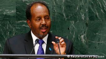UN Vollversammlung 26.09.2014 - Hassan Sheikh Mohamud