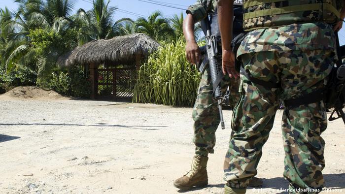 Mexiko Militärpolizei Militär Soldaten