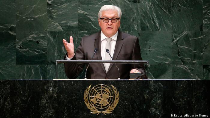 Франк-Вальтер Штайнмайер на Генассамблее ООН