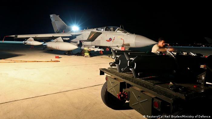 Aviones brit�nicos atacan por segunda vez posiciones del EI en Irak