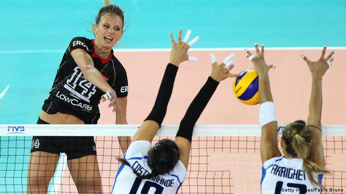 Volleyball Weltmeisterschaft Italien Deutschland 27.09.2014 (Foto: Paolo Bruno/Getty Images for FIVB)