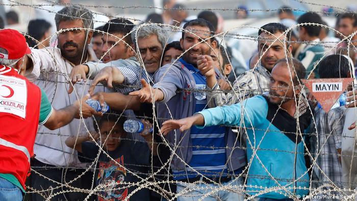 افزایش شمار آوارگان کرد در مناطق مرزی میان ترکیه وسوریه