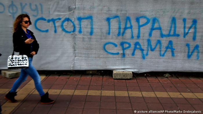 Stop paradi srama - grafit u Beogradu
