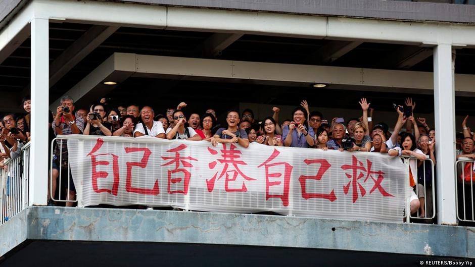 Studentenprotest in Hong Kong Occupy Central 28. Sept