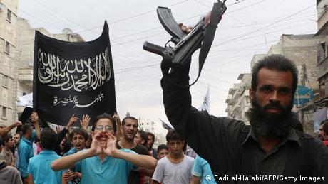 Anhänger der Al Nusra Front Syrien