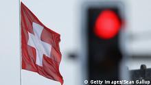 Schweiz Symbolbild Rote Ampel