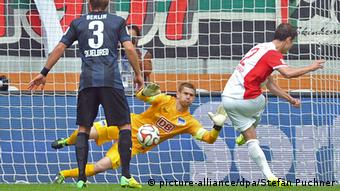 Bundesliga Augsburg Hertha 28.09.2014