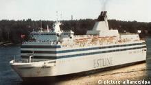 ARCHIVBILD Die Fähre Estonia