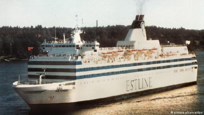 Пором Естонія затонув 28 вересня 1994 року