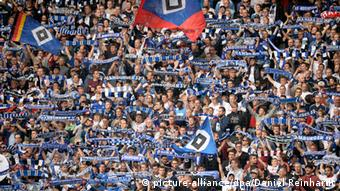 Bundesliga Hamburger SV - Eintracht Frankfurt 28.09.2014