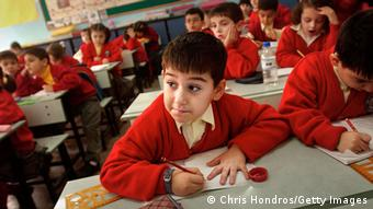 Türkei Schule Schüler Unterricht Klassenzimmer