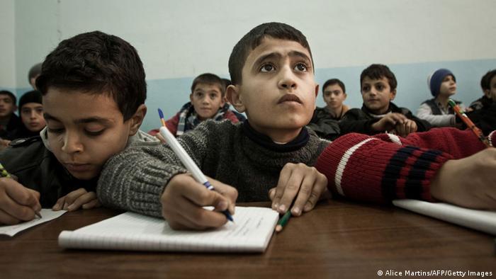 Türkei Schule Schüler Unterricht Klassenzimmer (Alice Martins/AFP/Getty Images)