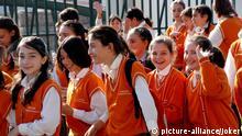Türkei Schüler Mädchen Schule Schuluniform