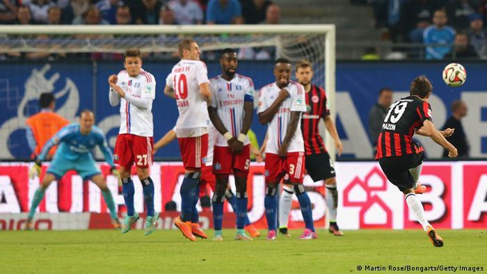 Bundesliga Hamburg Frankfurt Piazon Tor 28.09.2014