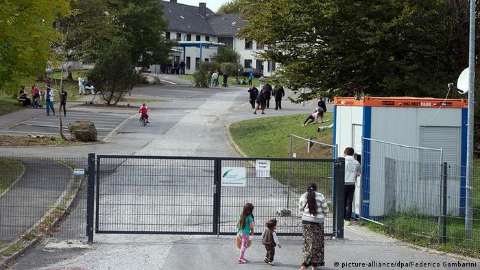 Siegerland-Kaserne Flüchtlingsheim Flüchtlinge Burbach