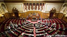 Senatssaal Saal Frankreich Paris