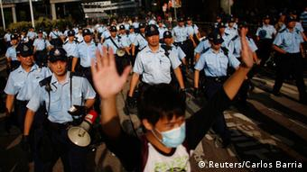 Demonstrationen Hong Kong 29.09.2014