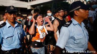 Bildergalerie Demonstrationen Hong Kong 29.09.2014