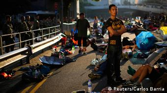 Bildergalerie Demonstrationen Hong Kong 29.09.2014