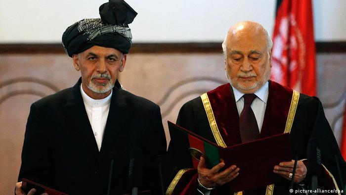 Ashraf Ghani Ahmadzai Vereidigung Afghanistan 29.9.2014