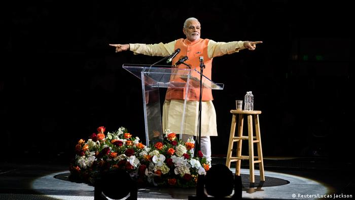Modi Rede in Madison Square Garden 28.09.2014 New York