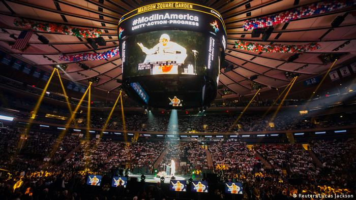 Modi Rede in Madison Square Garden 28.09.2014 New York (Reuters/Lucas Jackson)